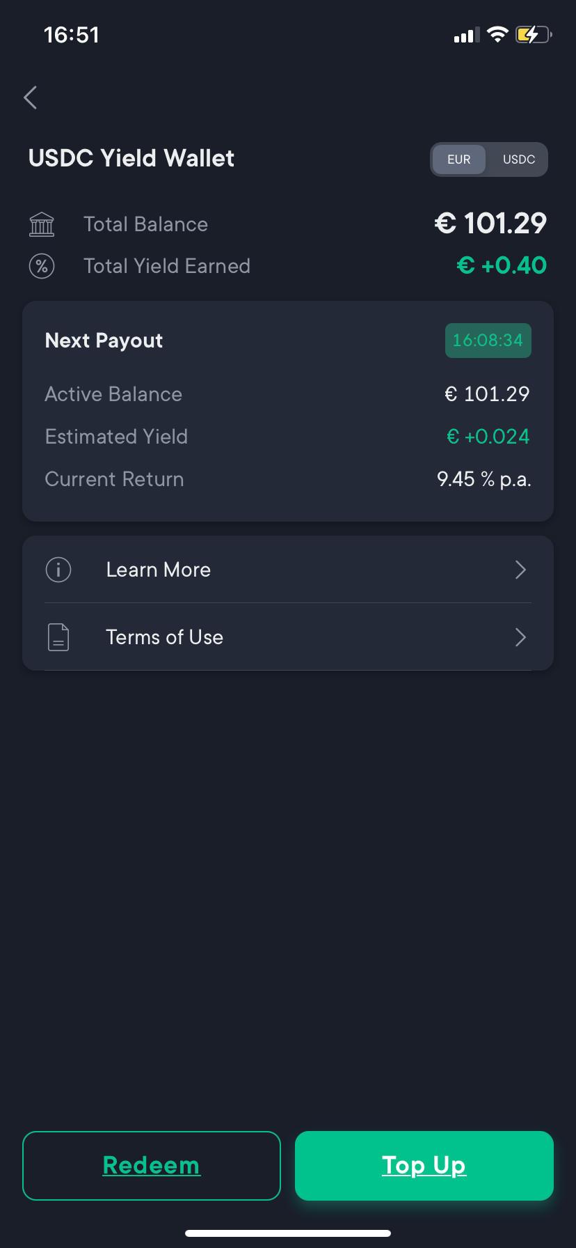 crypto_exchange_swissborg_smartyield_earned